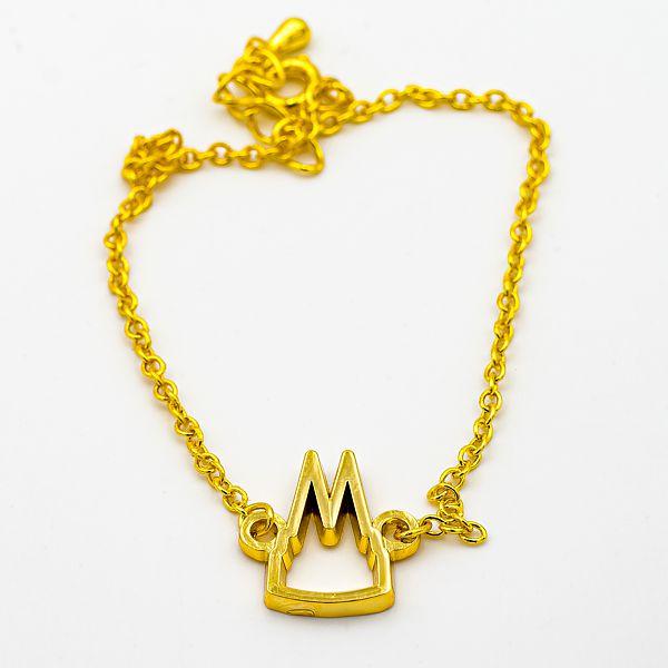 Armband Dom Silhouette offen schlicht, 2 Varianten - gold