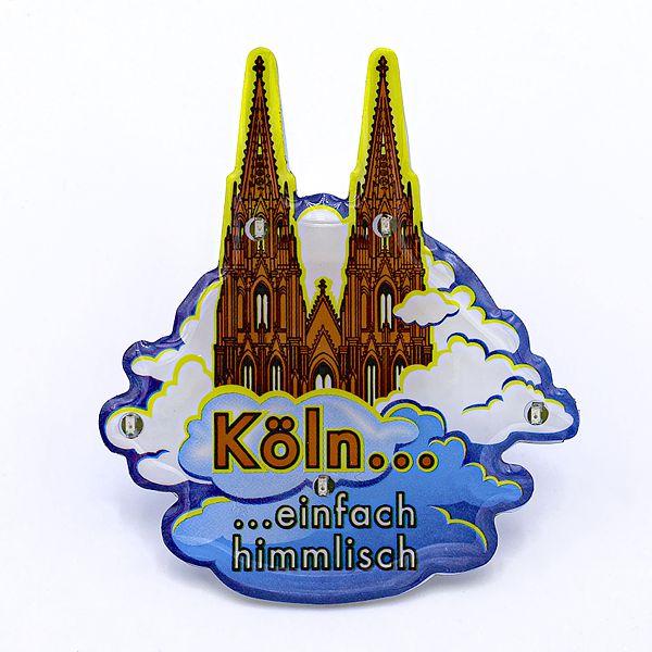 Blinky Köln - Einfach himmlisch weiße Wolken