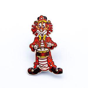 Blinky Clown mit Trömmelche rot/weiß