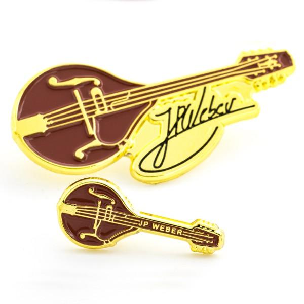 2D-Pin Große Flitsch mit Signatur & 2D-Pin Kleine Flitsch - JP Weber Kollektion