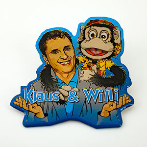 2D-Pin Klaus & Willi
