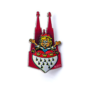 3D-Pin Mutter Colonia Dom