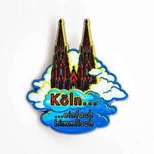 3D-Pin Köln einfach himmlisch weiße Wolken