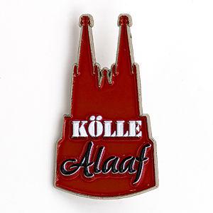 3D-Pin Dom rot mit Kölle Alaaf