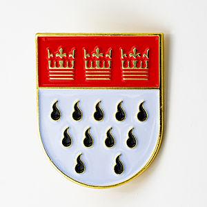 3D-Pin Kölner Wappen