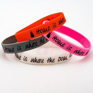 Silikon-Armband Home is where the Dom is, 4 Varianten - Torben Klein Kollektion