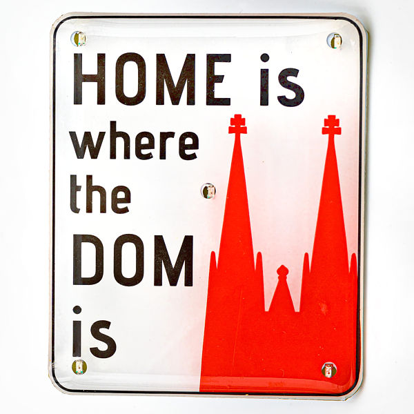 Blinky Home is where the Dom is - Torben Klein Kollektion