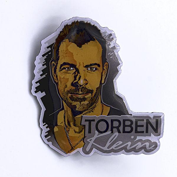 2D-Pin Torben Klein Comic - Torben Klein Kollektion